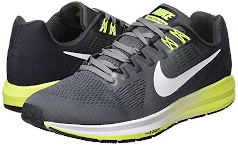 Nike Air Zoom Structure 21 Men's Running Shoe - Grey Image 12