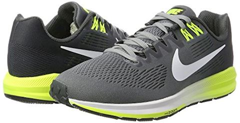 Nike Air Zoom Structure 21 Men's Running Shoe - Grey Image 5