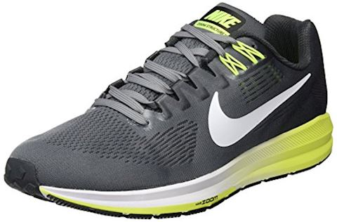 Nike Air Zoom Structure 21 Men's Running Shoe - Grey Image 8