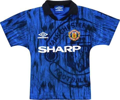 Umbro Manchester United Kids SS Away Shirt 1992/93 Image