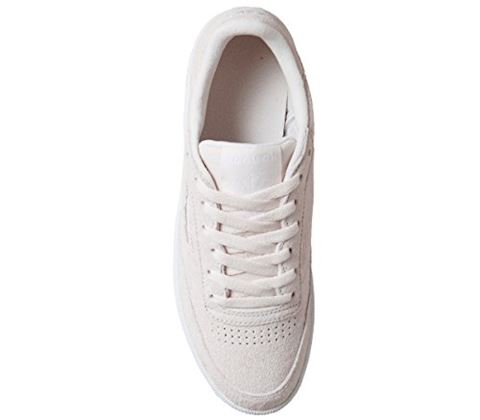 Reebok Classic  CLUB C 85 TRIM NBK  women's Shoes (Trainers) in Beige Image 12