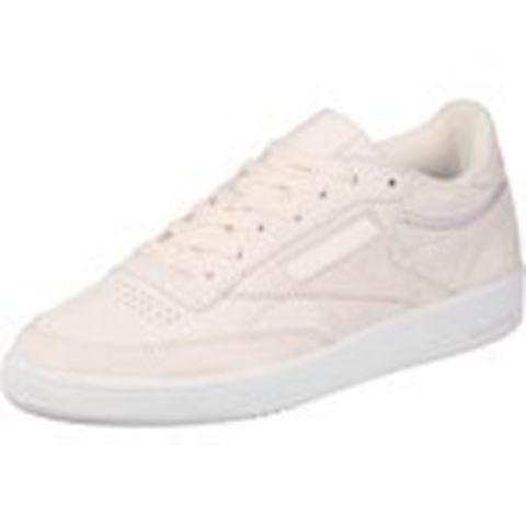 Reebok Classic  CLUB C 85 TRIM NBK  women's Shoes (Trainers) in Beige Image 16