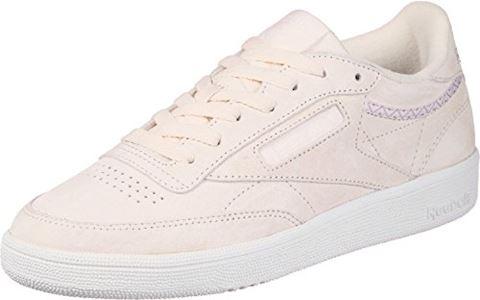 Reebok Classic  CLUB C 85 TRIM NBK  women's Shoes (Trainers) in Beige Image 17
