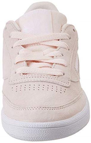 Reebok Classic  CLUB C 85 TRIM NBK  women's Shoes (Trainers) in Beige Image 4