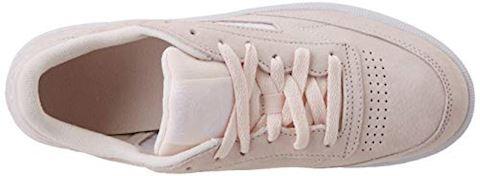 Reebok Classic  CLUB C 85 TRIM NBK  women's Shoes (Trainers) in Beige Image 7