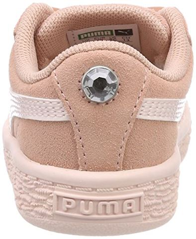 Puma Suede Heart Jewel Baby Trainers Image 2