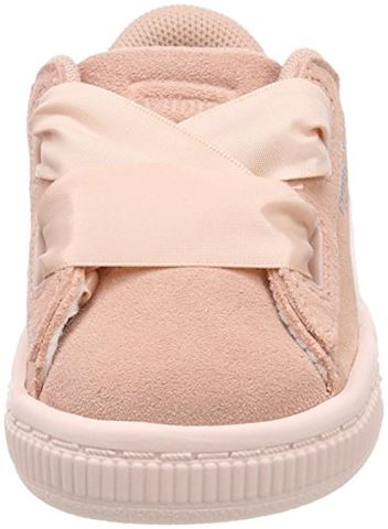 Puma Suede Heart Jewel Baby Trainers Image 4