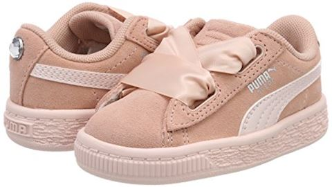 Puma Suede Heart Jewel Baby Trainers Image 5