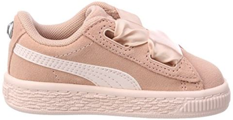 Puma Suede Heart Jewel Baby Trainers Image 6