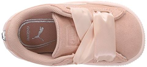 Puma Suede Heart Jewel Baby Trainers Image 7