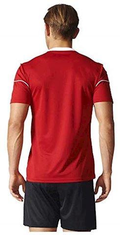 adidas Squadra 17 SS Jersey Power Red White Image 2
