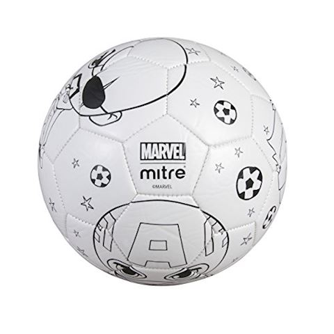 Mitre Marvel Captain America Scriball Colouring Football Image 3