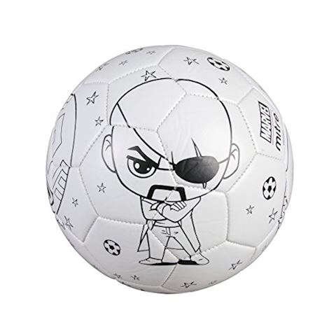 Mitre Marvel Captain America Scriball Colouring Football Image 4