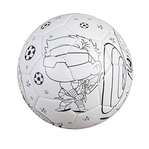 Mitre Marvel Captain America Scriball Colouring Football Image 5