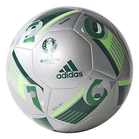 adidas UEFA EURO 2016 Glider Football Silver/Green Size 5 Image