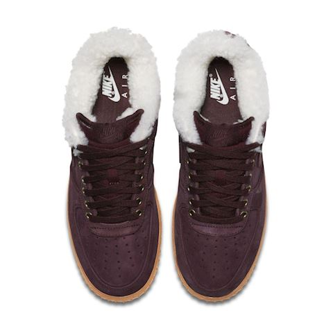 sale retailer 4c35e 616c0 Nike Air Force 1 Premium Winter Men s Shoe - Black Image 4