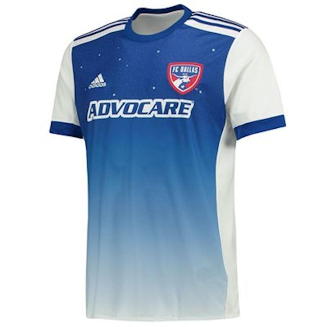 a5e26494065 adidas FC Dallas Mens SS Away Shirt 2017   FOOTY.COM