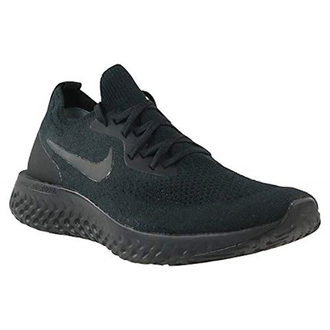 Nike Epic React Flyknit Men's Running Shoe - Black Image 11