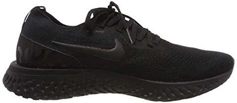 Nike Epic React Flyknit Men's Running Shoe - Black Image 6