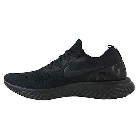 Nike Epic React Flyknit Men's Running Shoe - Black Image 9
