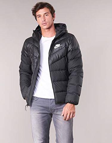 Windrunner Hooded Jacket Men's Down Nike Fill Sportswear Black Nw80nPXOkZ