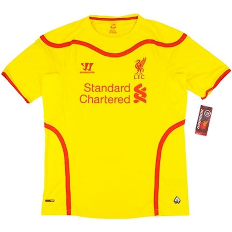 Warrior Liverpool Mens SS Away Shirt 2014/15