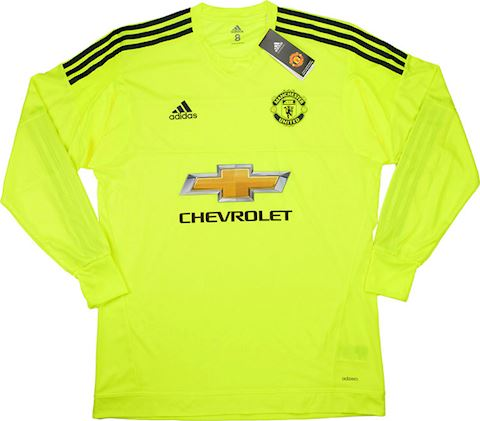 adidas Manchester United Mens LS Goalkeeper Player Issue Away Shirt 2015/16 Image