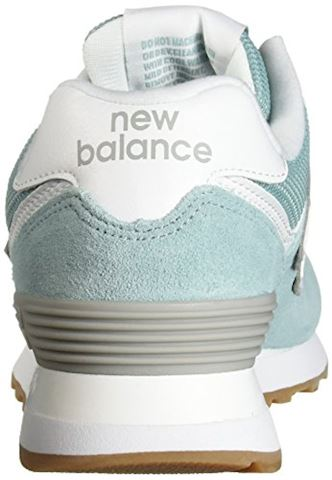 New Balance  WL574  women's Shoes (Trainers) in Blue Image 2