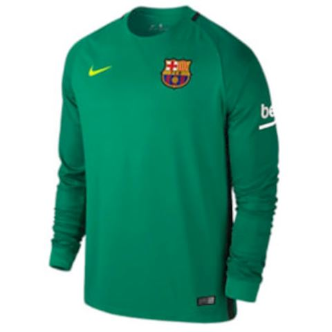 Nike Barcelona Mens LS Goalkeeper Away Shirt 2016/17 Image