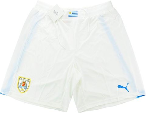 Puma Uruguay Mens Away Shorts 2014 Image