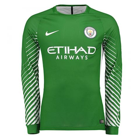 Nike Manchester City Mens LS Goalkeeper Home Shirt 2017/18 Image
