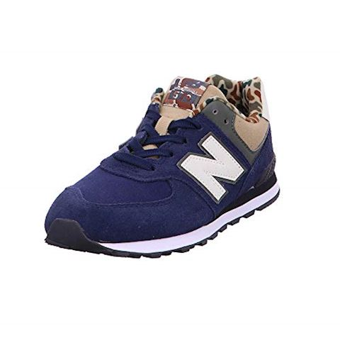 New Balance  GC574  girls's Shoes (Trainers) in Blue Image