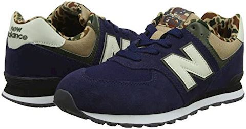 New Balance  GC574  girls's Shoes (Trainers) in Blue Image 11