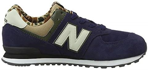 New Balance  GC574  girls's Shoes (Trainers) in Blue Image 12