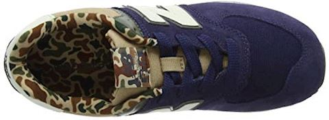New Balance  GC574  girls's Shoes (Trainers) in Blue Image 13