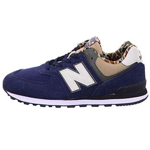 New Balance  GC574  girls's Shoes (Trainers) in Blue Image 3