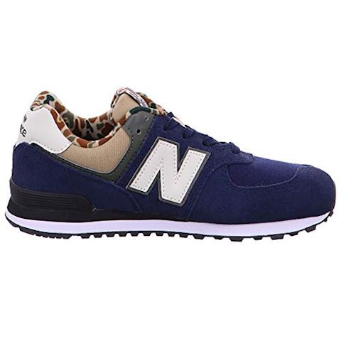 New Balance  GC574  girls's Shoes (Trainers) in Blue Image 5