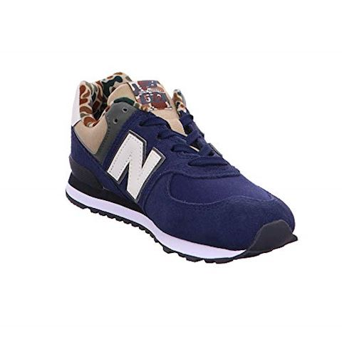 New Balance  GC574  girls's Shoes (Trainers) in Blue Image 6