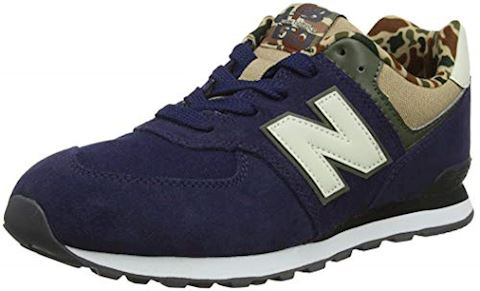 New Balance  GC574  girls's Shoes (Trainers) in Blue Image 7