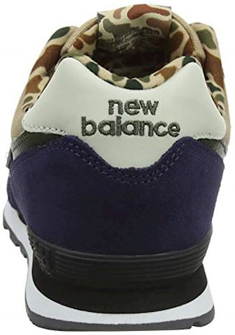 New Balance  GC574  girls's Shoes (Trainers) in Blue Image 8