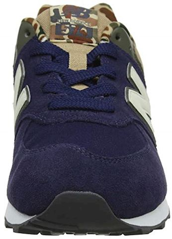 New Balance  GC574  girls's Shoes (Trainers) in Blue Image 10