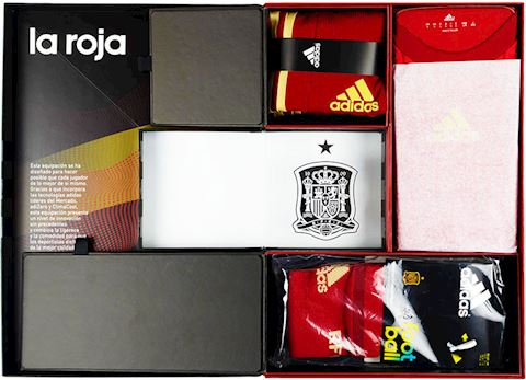 adidas Spain Mens SS Player Issue Home Shirt 2013 Image