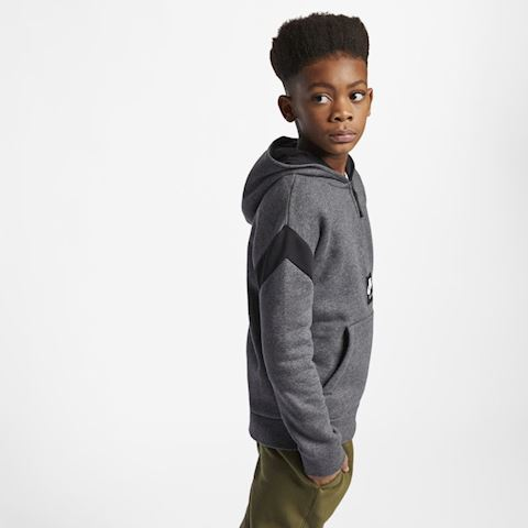 debde24ff4b9 Nike Air Older Kids  (Boys ) Half-Zip Hoodie - Grey Image