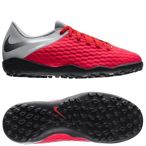 Nike Hypervenom Academy 3 TF Raised On Concrete - Light Crimson/Wolf Grey Kids Image