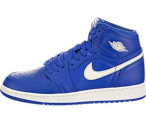 Nike Air Jordan 1 Retro High OG Older Kids' Shoe - Blue Image