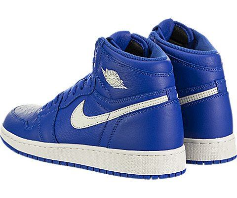 Nike Air Jordan 1 Retro High OG Older Kids' Shoe - Blue Image 4