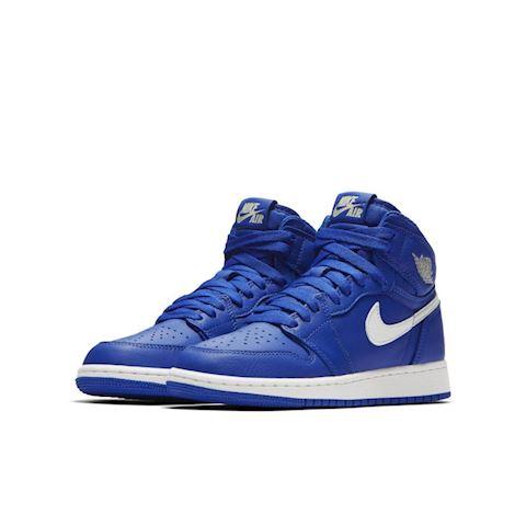 Nike Air Jordan 1 Retro High OG Boys' Shoe - Blue Image 2