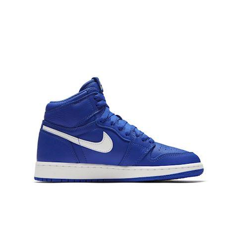 Nike Air Jordan 1 Retro High OG Boys' Shoe - Blue Image 3