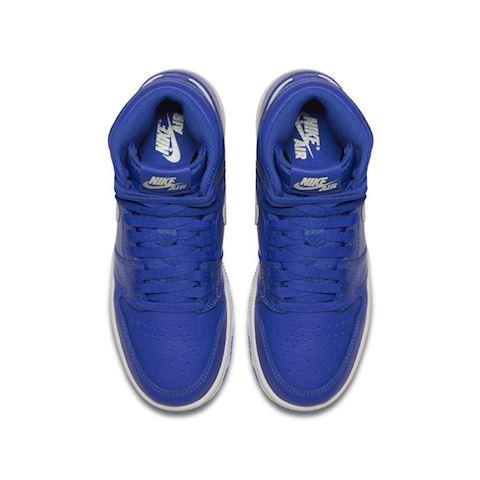 Nike Air Jordan 1 Retro High OG Boys' Shoe - Blue Image 4