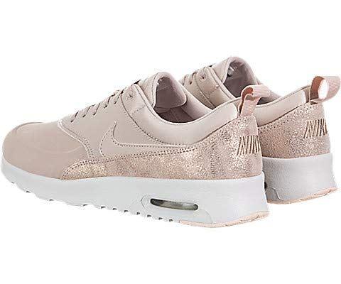 Nike Air Max Thea Premium Women's Shoe - Cream Image 4